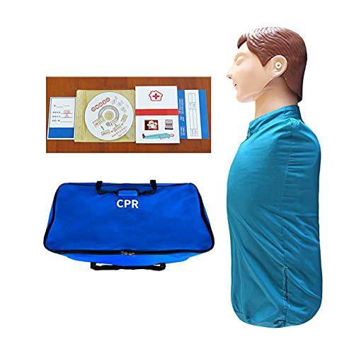 GXGX Simulación cardiopulmonar humana para revitalización cardiopulmonar semicuerpo adulto GPR entrenamiento Manikin...