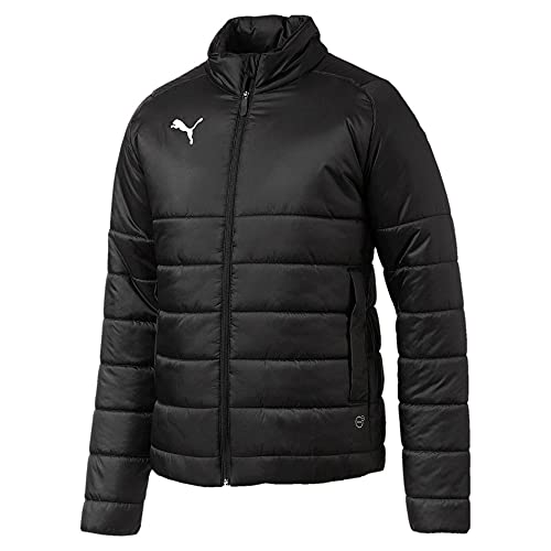 Puma Herren Liga Casuals Padded Jacket Jacke, Black White, S