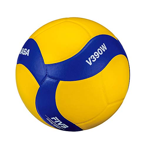 Mikasa Volleyball V390W, blau, 5