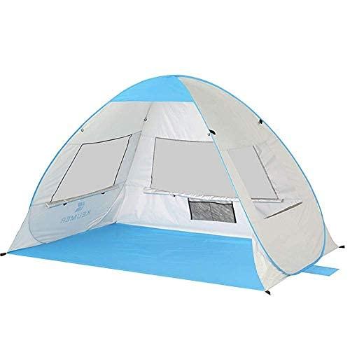 Carpa con aislamiento térmico Protección automática instantánea para el hogar Carpa de cabina con toldo ultraligero Carpa para 2-3 personas Carpa para acampar Pesca Senderismo Picnic al aire libre p
