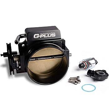 Aluminum 92mm Throttle Body Replacement For GM Gen III Ls1 Ls2 Ls6 Ls3 Ls Ls7 Sx Ls 4 Cnc Bolt Cable