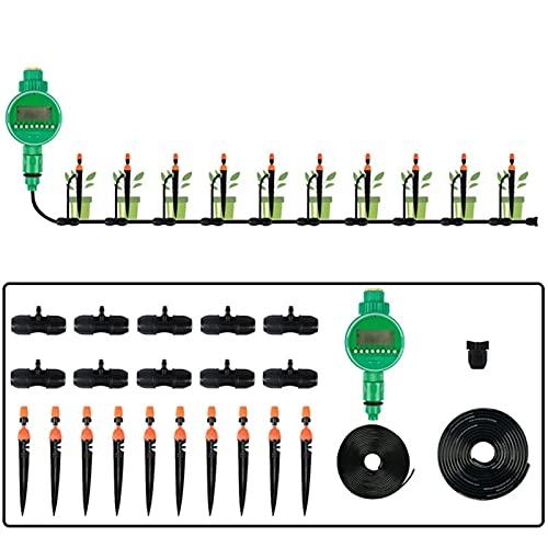 BBGS Micro Flujo Goteo Sistema de Riego, Planta de Patio de Bricolaje Kit de Riego Automático, Aspersor para el Paisaje del Jardín, Cama de Flores, Invernadero, Plantas (Color : Style 1)