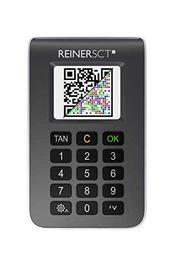 REINER SCT tanJack photo QR I Chip-Tan-Generator für Online-Banking I Für Sparkasse, Volksbank, GLS-Bank und weitere