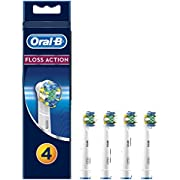 Oral-B Brush Heads Floss Action 4 per pack by Oral-B