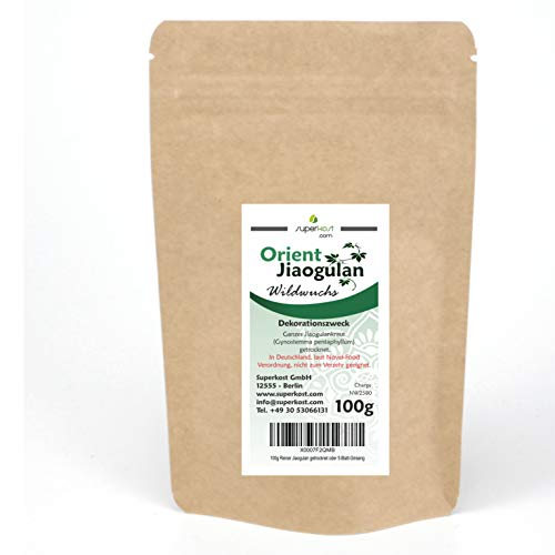 100g Reiner Jiaogulan Unsterblichkeitskraut getrocknet oder 5-Blatt-Ginseng
