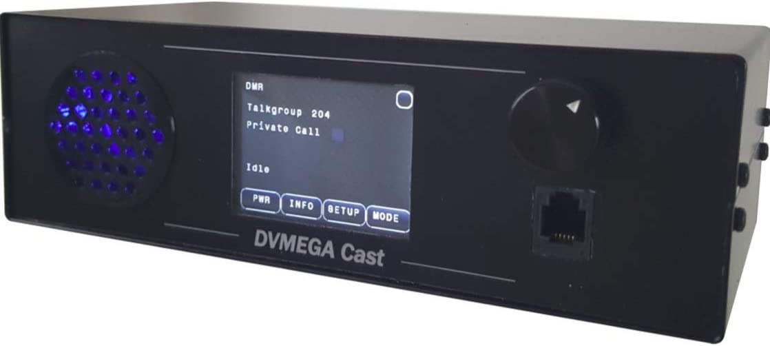 DVMEGA Cast AMBE3000 Based Discount mail Max 44% OFF order Multimode IP Radio for DMR a D-Star