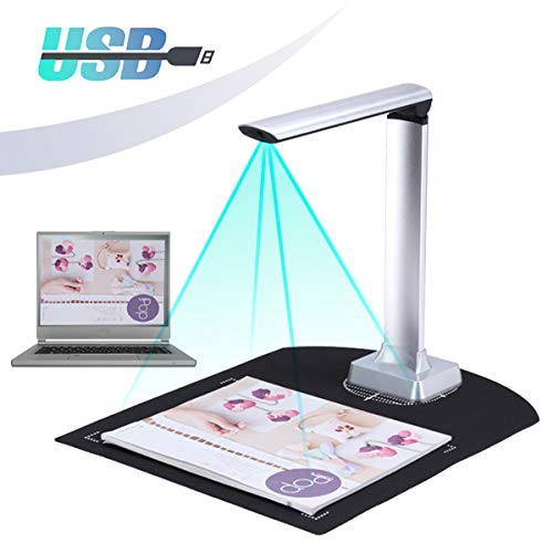 Find Discount EnweGey Document Camera, High Definition Portable Document Scanner with LED Supplement...