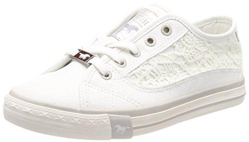 Mustang Damen 1146-303-1 Low-top Sneaker, Weiß (Weiß 1), 40 EU