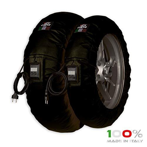 Termomantas Capit Suprema Vision S/M (90/17 pulgadas delanteras - 120/16-17 pulgadas traseras) (negro)