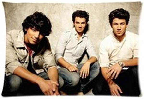 Jonas Brothers Pillowcases Custom 20 X30 Two Sides Cool Comfortable Pillow Case