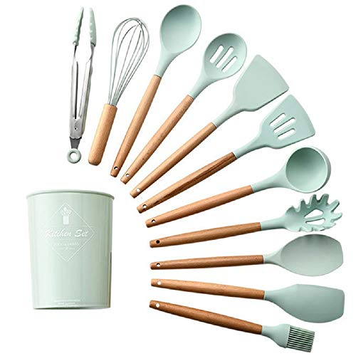 sahnah Environmental Wood Portable Wooden Cutlery Sets Wooden Chopsticks and Spoons Travel Suit Good Choice For Students