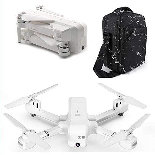 LanLan SJRC Z5 5G WiFi FPV avec caméra 1080P Double GPS Dynamique Suivre Le Drone Quadcopter Etui Blanc 5G 1080P +