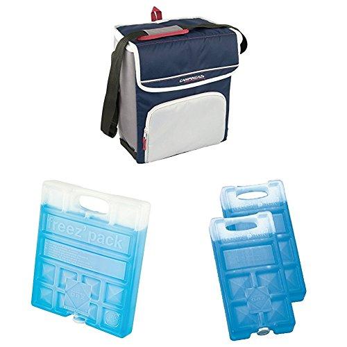 Campingaz Kühltasche Fold N Cool 20 Liter & Campingaz Freezepack, 1+2 Stück