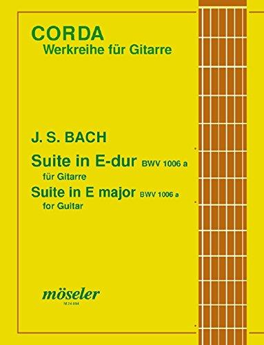 Suite E-Dur: BWV 1006a. Gitarre. (Corda)