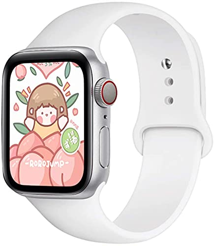 Correa para Apple Watch band 44mm 42mm smartwatch 40mm 38mm Sport Correa de reloj de silicona pulsera para iWatch series 6 SE 5 4 3 2