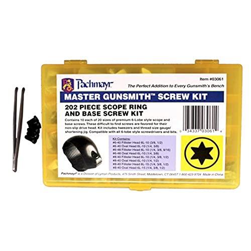 Pachmayr Master Gunsmith Torx-Style Ring and Base Screw Kit