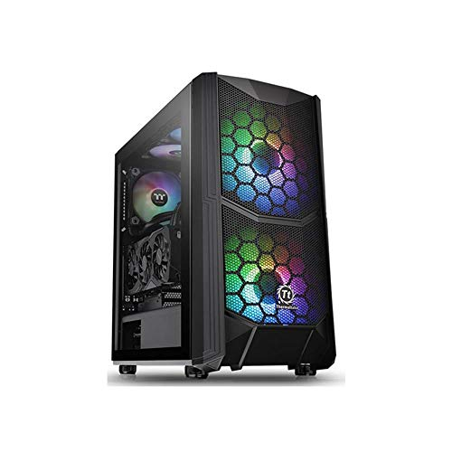 Thermaltake Commander C 35 TG ARGB Edition/Dual 200MM ARGB Fans/Tempered Glass/ATX Mid-Tower Chassis