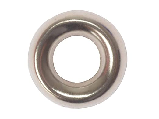 8 NICKEL PLATED NP 200 x SCREW CUP WASHERS NO