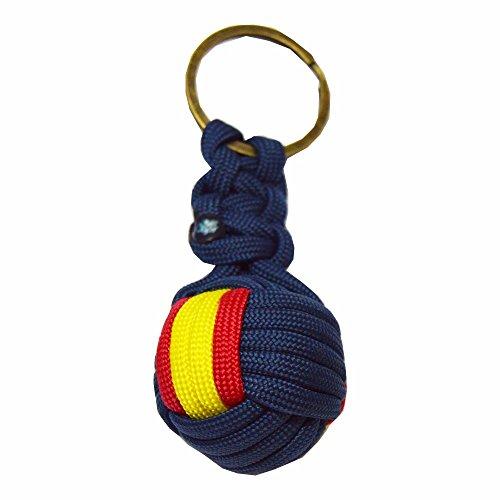 Llavero Bola Nylon ESPAÑA. Fabricado en España. Enviamos...
