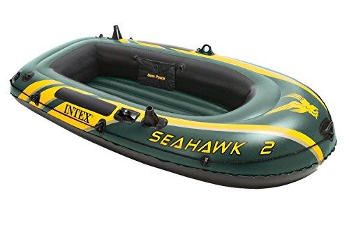 Intex Schlauchboot Seahawk 2 Größe 236x114x41cm Kapazität bis 200kg