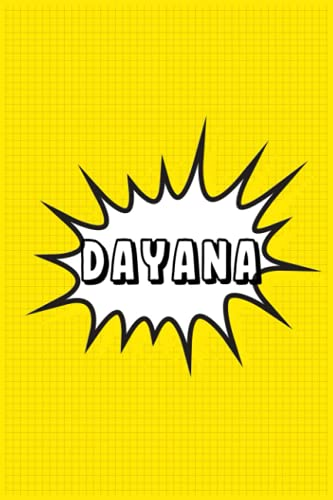 Dayana: Personalized Name Dayana Notebook, Gift for Dayana, Diary Present Idea