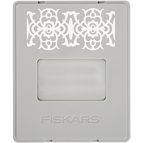 Fiskars Cartucho Hierro Forjado, para Set de inicio AdvantEdge (Producto Nº 1004687), para crear bordes, 1004702