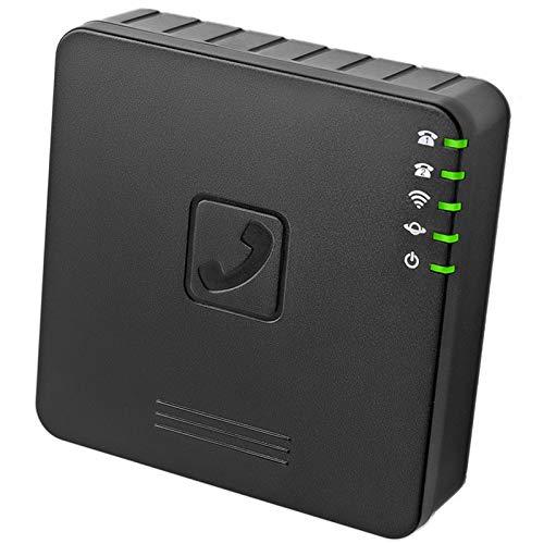 Suading Router InaláMbrico VoIP Concon 2 Puertos de Voz sobre IP GT202 con WiFi VOIP Adaptador PBX SIP para TeléFono de la Puerta de Enlace GT202 Enchufe Europeo