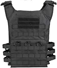Airsoft Tactical Vest Fishing Hunting Training Clothing Vest Outdoor Jungle Sports Equipment Accessories Jacket (Black)