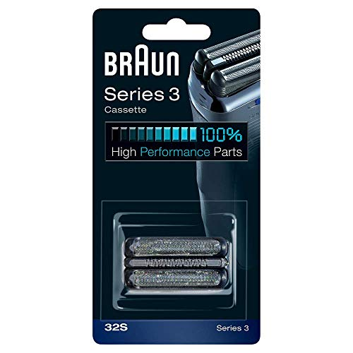 Braun Replacement Foil & Cutter Cassette – 32S, Series 3 – Silver