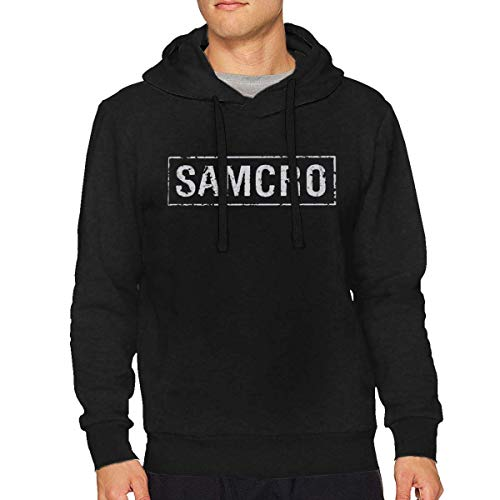 huatongxin Sons of Anarchy Samcro Herren Langarm Sweatshirt Pullover Hoodie