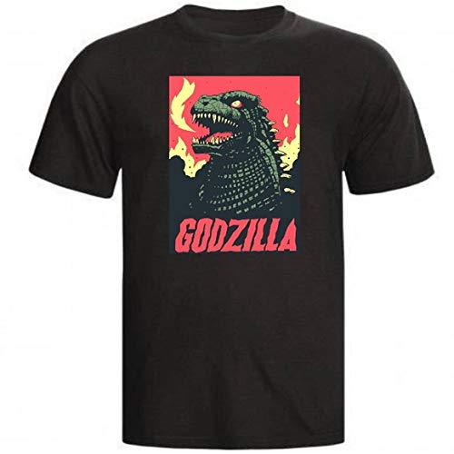 Camiseta Godzilla King Kong Filme Monstros Lendas filme godzilla (Camiseta - P, Preto)