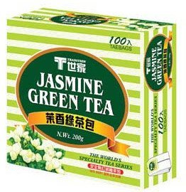 Tradition Jamsmine Green Mail order Ranking TOP16 Tea Bag 1 by X 100bags