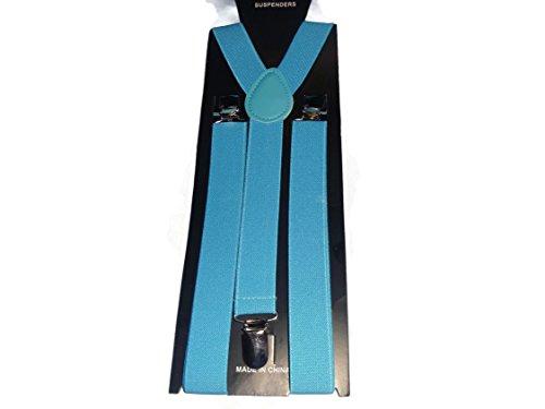 Easy Attached Turquoise Design Design Adjustable Braces - Bretelles - Homme Turquoise turquoise Taille Unique