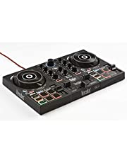 Hercules DJControl Inpulse 200 – DJ controller with USB - 2 tracks with 8 pads and sound card – DJUCED Software and tutorials included & also compatible with Virtual DJ Pro