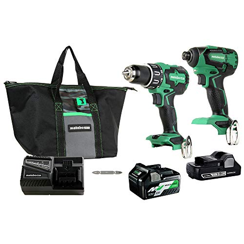 Metabo 18V Hammer Drill and Impact Driver Combo