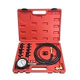 BIlinli Tester della Compressione del manometro dell'olio - Kit di Prova della Compression...