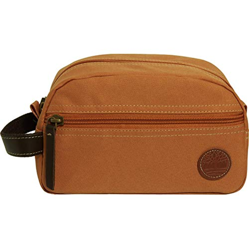 Timberland Core Canvas Travel Kit Dark Cheddar