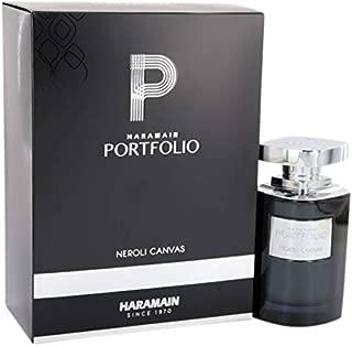 Al Harmain Haramain Portfolio Neroli Canvas Eau Di Perfume for Men Spray, 2.5 Oz