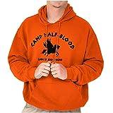 Camp Half Blood Greek Mythology Hoodie Sweatshirt Women Men Orange