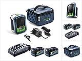 Festool Sysrock BR 10 DAB+ - Radio para obras (incluye 2 baterías de 5,2 Ah y cargador)