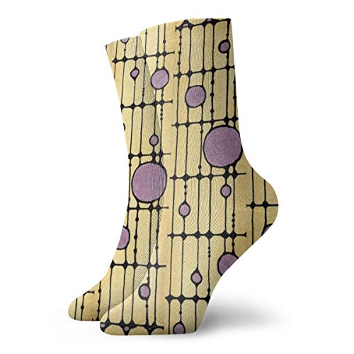Liliylove Calcetines de senderismo para hombres y mujeres, para actividades al aire libre, con cojín absorbente, diseño de media pantorrilla, bonitos calcetines atléticos, atrapasoles