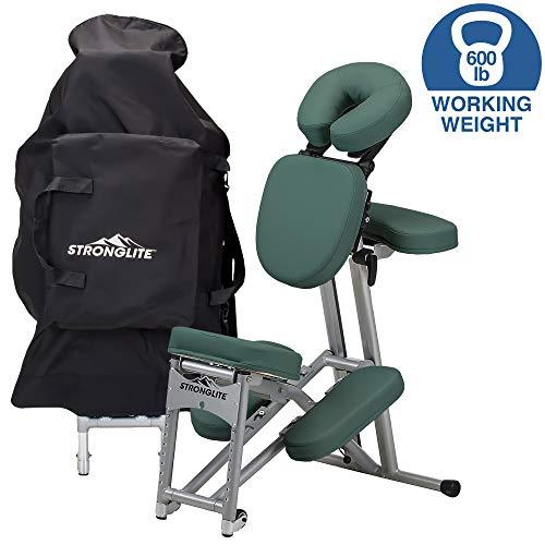 Stronglite Teal Ergo Pro II silla de masaje paquete