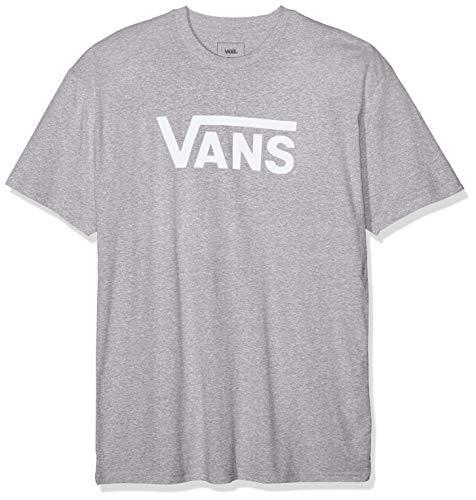 Vans Classic Camiseta, Gris (Athletic Heather Anth), Large para Hombre