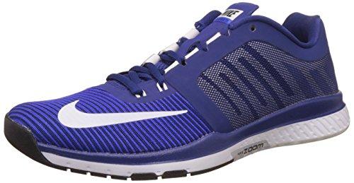 Nike NIKE ZOOM SPEED TR 2015, DP ROYAL BLUE/WHITE-RCR BL, 12.5