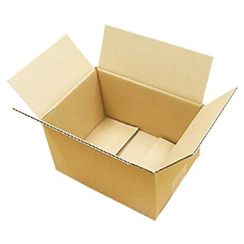 ダンボール 厚さ3mm 宅配50 214×156×120 クラフト 60枚セット (ダンボール箱 段ボール箱 梱包用 ダンボール)