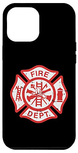 iPhone 12 Pro Max Fire Dept Logo Hero Appreciation Firefighter Fireman Gift Case