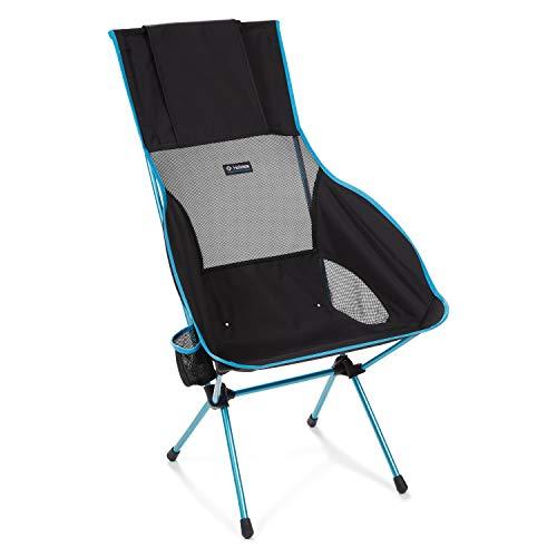 Helinox Savanna Camping chair 4 gamba/gambe Nero, Blu