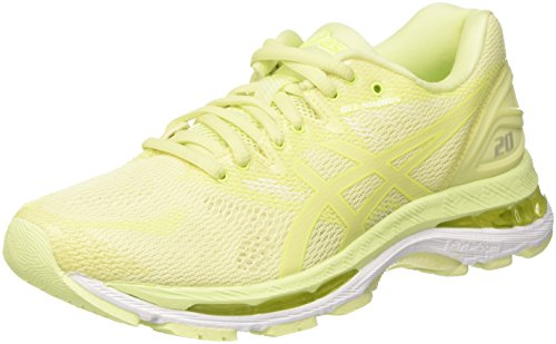 Asics Gel-Nimbus 20, Zapatillas de Running para Mujer, Amarillo (Green Limelight/Green Limelight/Safety Yellow 8585), 39 EU