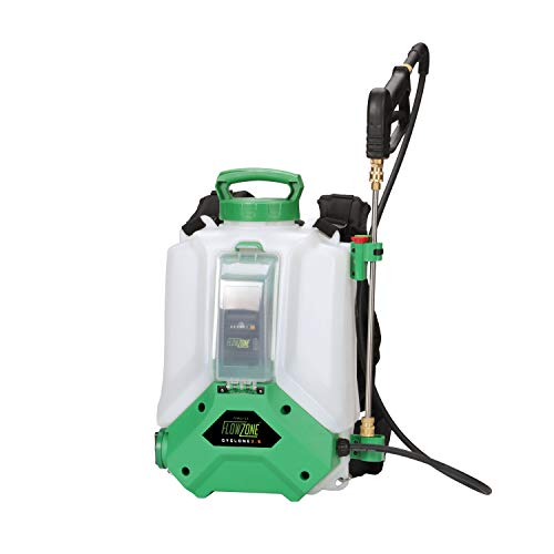 FlowZone Cyclone 2.5 Variable-Pressure 5-Position Battery Powered Backpack Sprayer