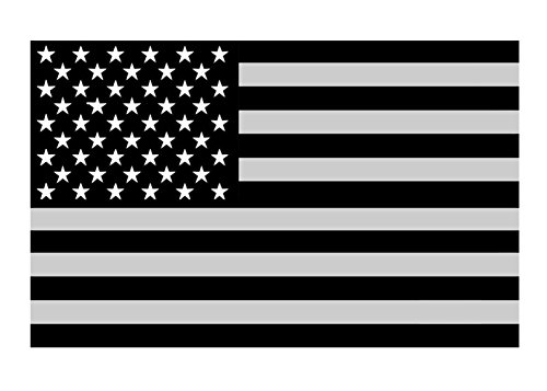"""10PCS American Subdued Flag Decal Tactical Military Car Sticker Decal 4 """"x2.5"""""""